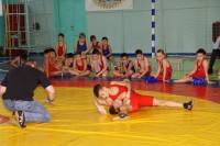 В Дудинке прошли состязания борцов