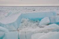 Кромка льда в 220 км от Дудинки