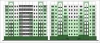 Летом в Дудинке обновят фасады восьми домов