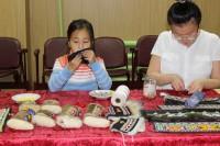 В Хантайском прошёл мастер-класс по вышиванию