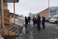 Комиссия по благоустройству проверила дудинские магазины