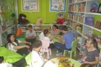В городской библиотеке открыли сенсорный уголок