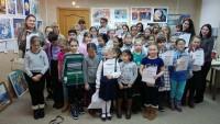 Юные художники получили заслуженные награды