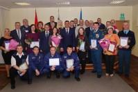 Глава города поздравил таймырских спасателей с профессиональным праздником