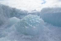 За сутки граница льда на Енисее не сместилась
