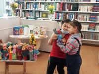 В библиотеке семейного чтения — «Кукольный переполох»