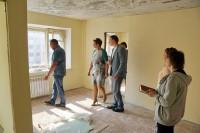 В Дудинке продолжается ремонт жилого дома