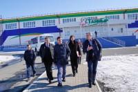 В Дудинке продолжается подготовка к российским соревнованиям