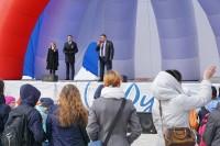 В Дудинке отпраздновали День России