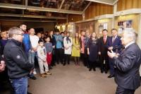В Дудинке открылась выставка памяти Виктора Крауса