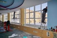 В Центре силовых видов спорта заменили окна