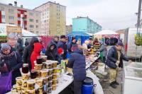 В Дудинке открылась традиционная осенняя ярмарка