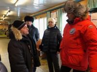 Руководители города и района посетили Хантайское Озеро