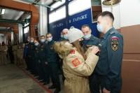 Дудинцы участвуют в акции «Георгиевская ленточка»