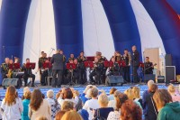 В Дудинке пели моряки