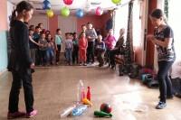 Юные сельчане порадовались празднику детства