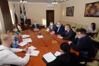 Глава города встретился с руководством регоператора по обращению с ТКО