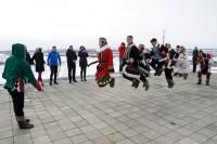 В Дудинке приветствовали участников Арктического кубка
