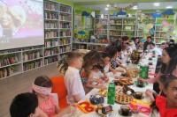 Новая библиотека дарит дудинцам радость общения