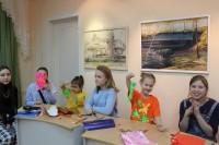 Юные дудинцы создавали новогодние игрушки