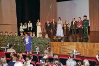 Дудинцы приняли участие в диалоге поколений