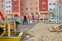В Дудинке проинспектировали состояние детских игровых площадок