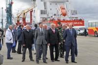 Дудинский морской порт получил статус международного