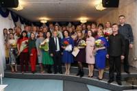 В Дудинской школе искусств поздравили педагогов