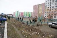 В Дудинке приступили к осуществлению благоустроительного проекта