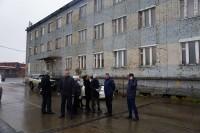В Дудинке осмотрели фасады административных зданий