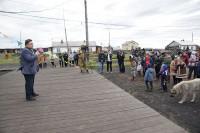 В дудинских поселках отпраздновали День рыбака