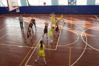Дудинские баскетболистки показали хорошую игру