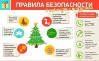 Не пренебрегайте мерами пожарной безопасности в новогодние праздники!