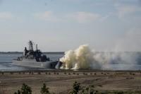 В районе Дудинки высадился морской десант