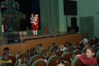 В Дудинке выступили артисты Красноярского театра кукол