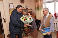 Чета Киргизовых отметила 80-летние юбилеи