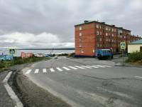 В Дудинке появился новый пешеходный переход