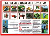 Дудинцам напоминают о важности соблюдения мер пожарной безопасности