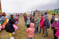 В Дудинке открыли четыре детские площадки