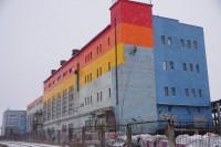 В Дудинке проводят комплекс благоустроительных работ