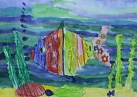 В детской школе искусств представили работы юных художников