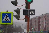 В Дудинке появились «умные» светофоры